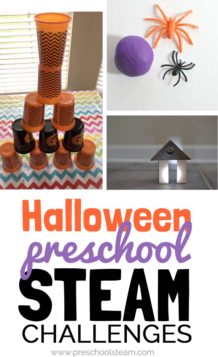 3 Quick Halloween Stem Challenges For Preschoolers
