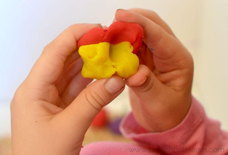 Play dough Preschool Spookley the Pumpkin Activity