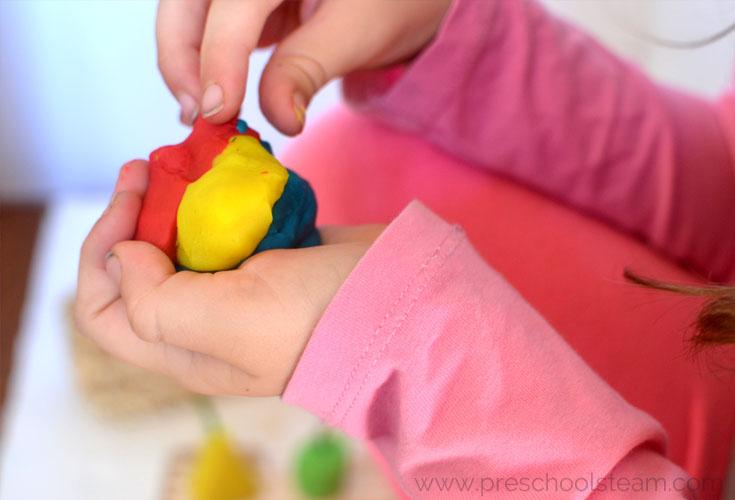 Spookley the Pumpkin Play Dough Preschool Activity