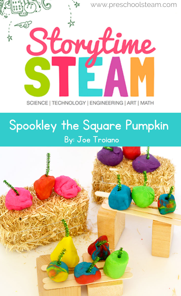 Preschool STEM Activity with Spookley the Square Pumpkin