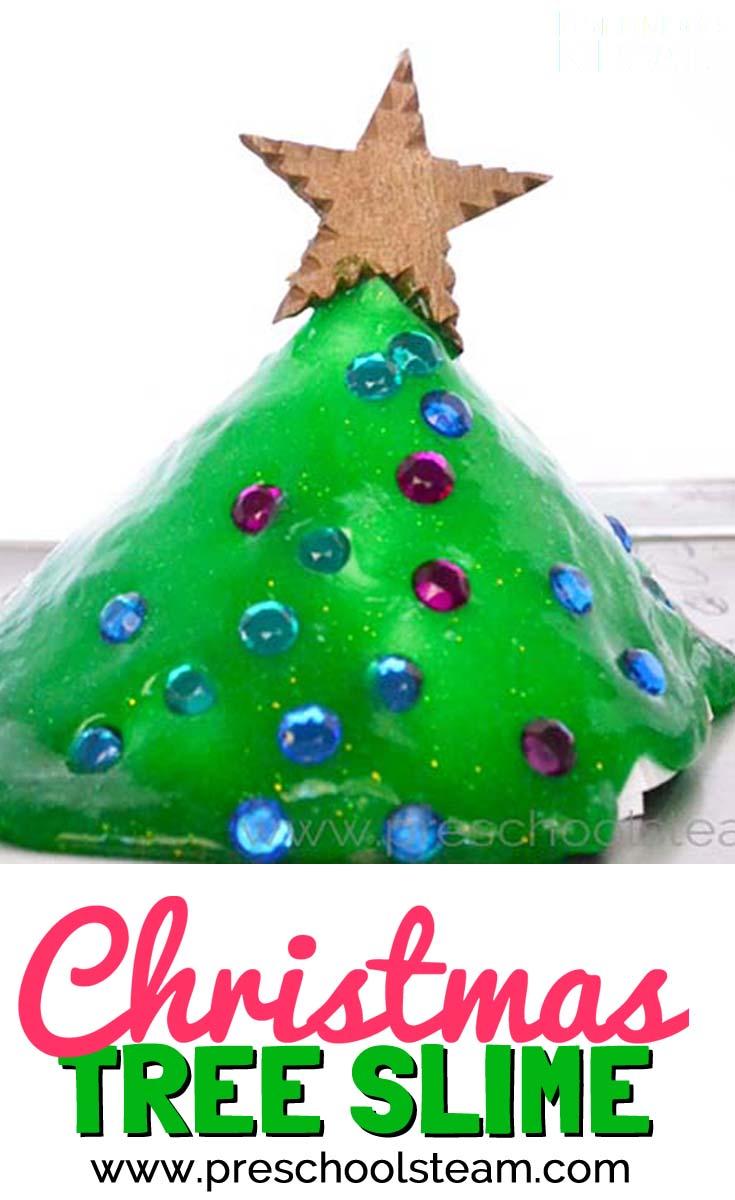 Build A Christmas Tree A Preschool Stem Activity