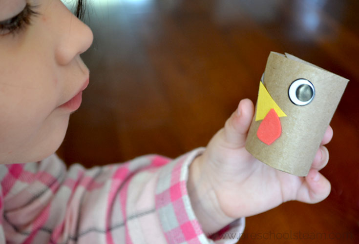 Make a Turkey Preschool Activity