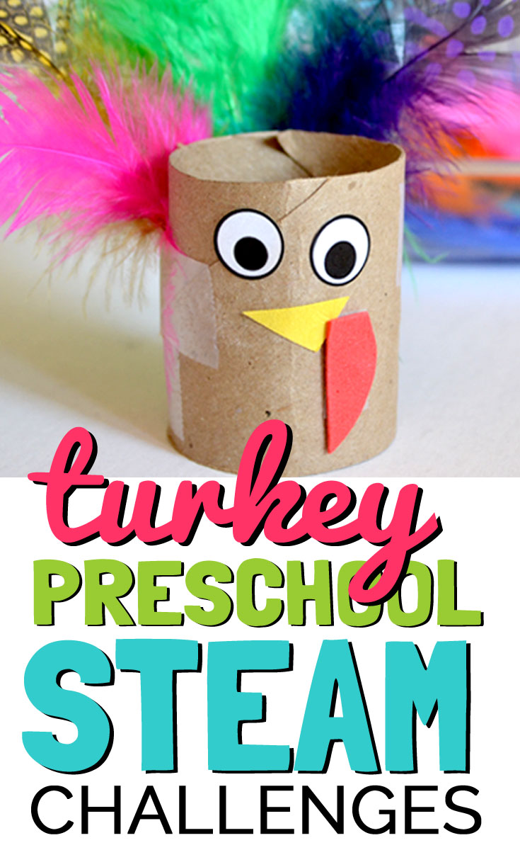 Easy Turkey Preschool Stem Activities