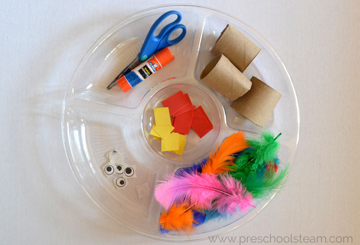 Preschool STEM Challenge: Build a Turkey