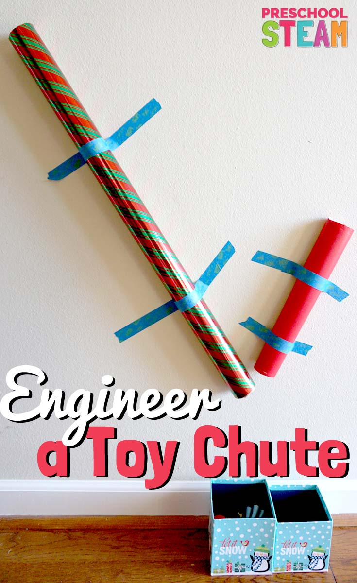 Engineer A Toy Chute A Preschool STEM Activity