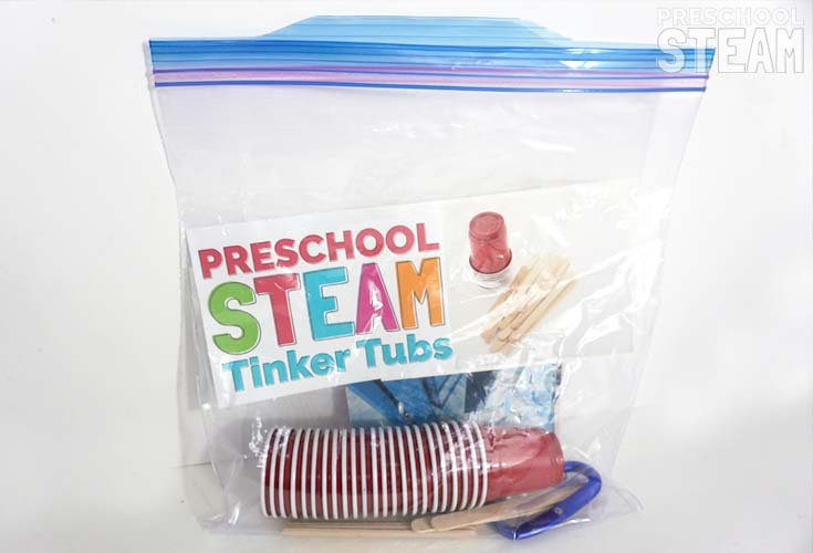 Preschool STEAM Building Materials