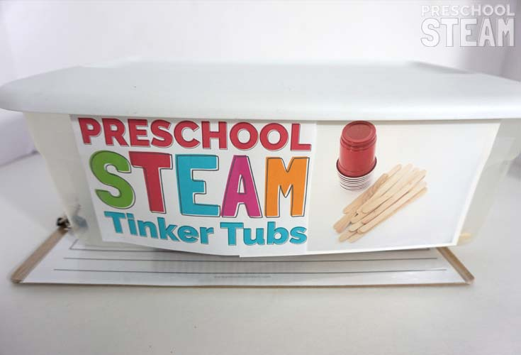 Preschool STEAM Materials for Building