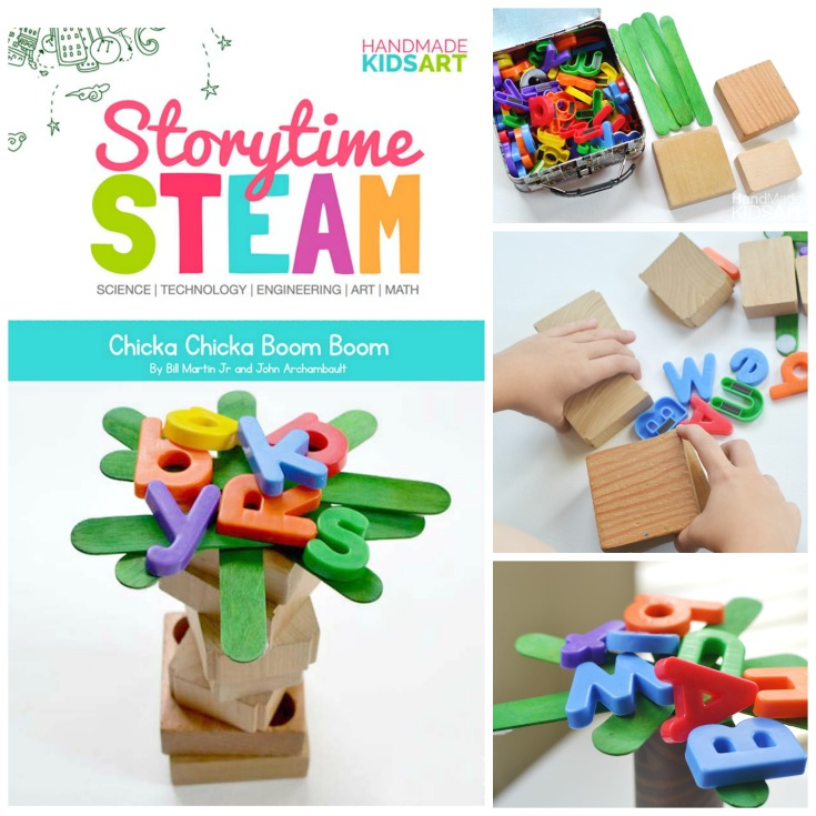 Stem School Kindergarten: Storytime STEAM With Chicka Chicka Boom Boom