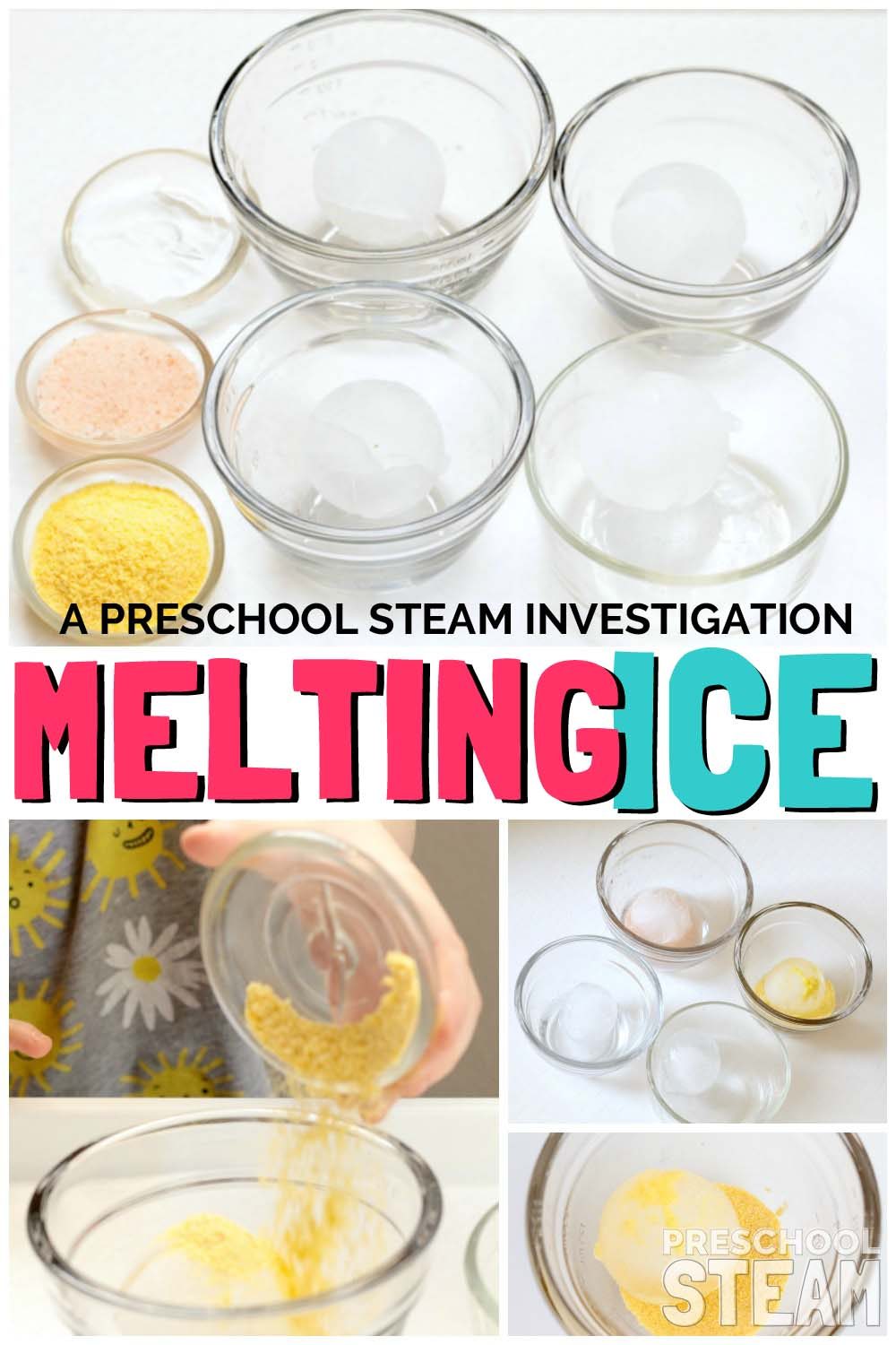 melting ice pin text
