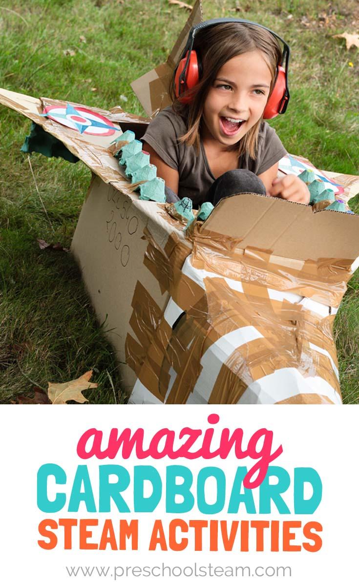 Amazing Cardboard Steam Activities For Preschoolers