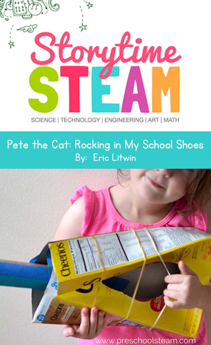 storytime steam pete the cat rockin pin