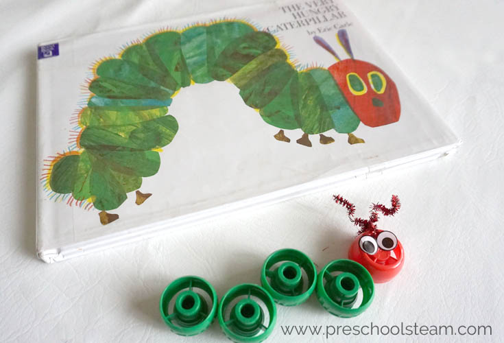 Storytime Steam With The Very Hungry Caterpillar Preschool Steam
