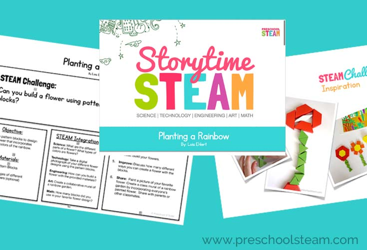 planting a rainbow lesson pack