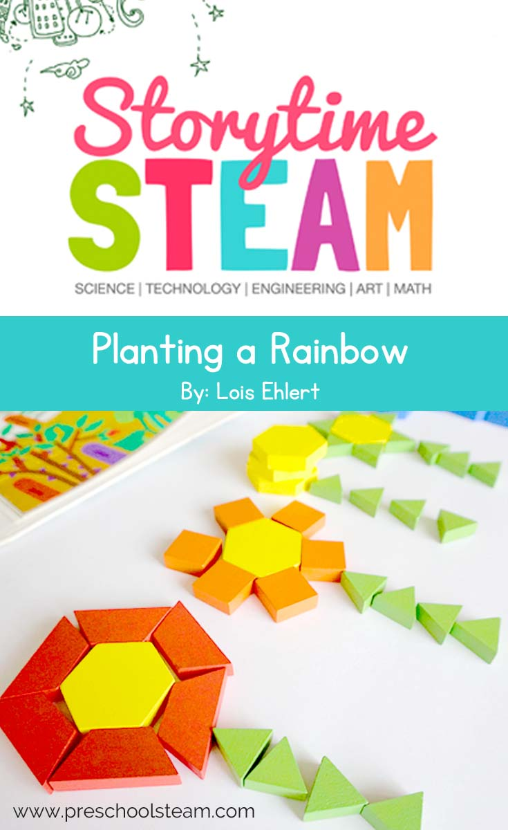 planting a rainbow pin
