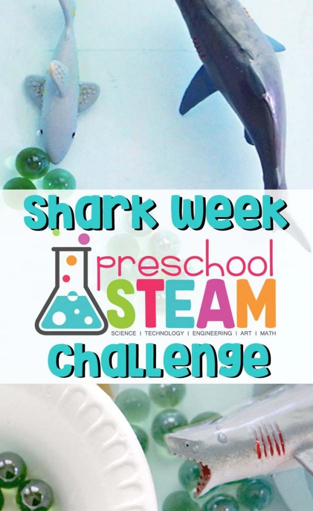 Shark Week Challenge | A STEM Activity for Preschoolers
