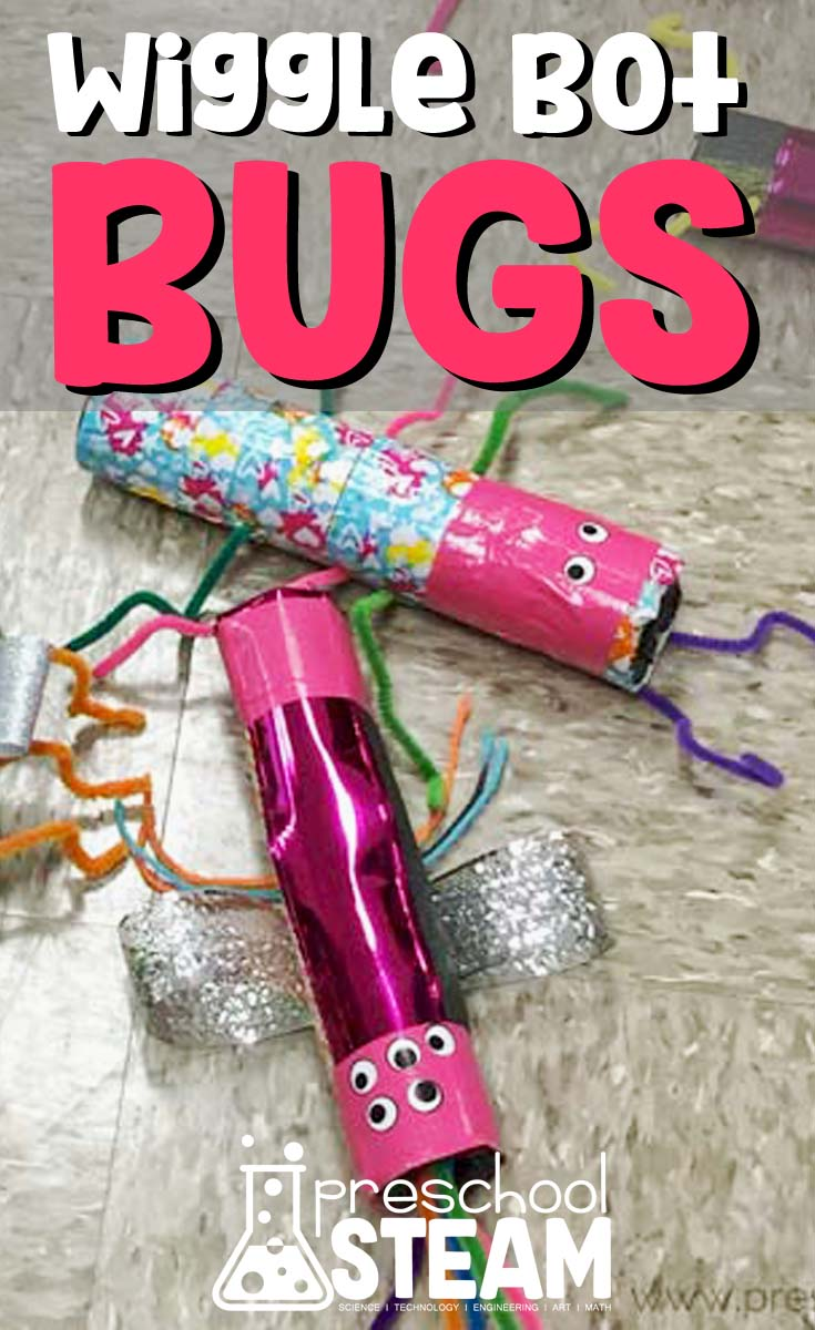 Wiggle Bot Bugs A Steam Activity For Preschoolers