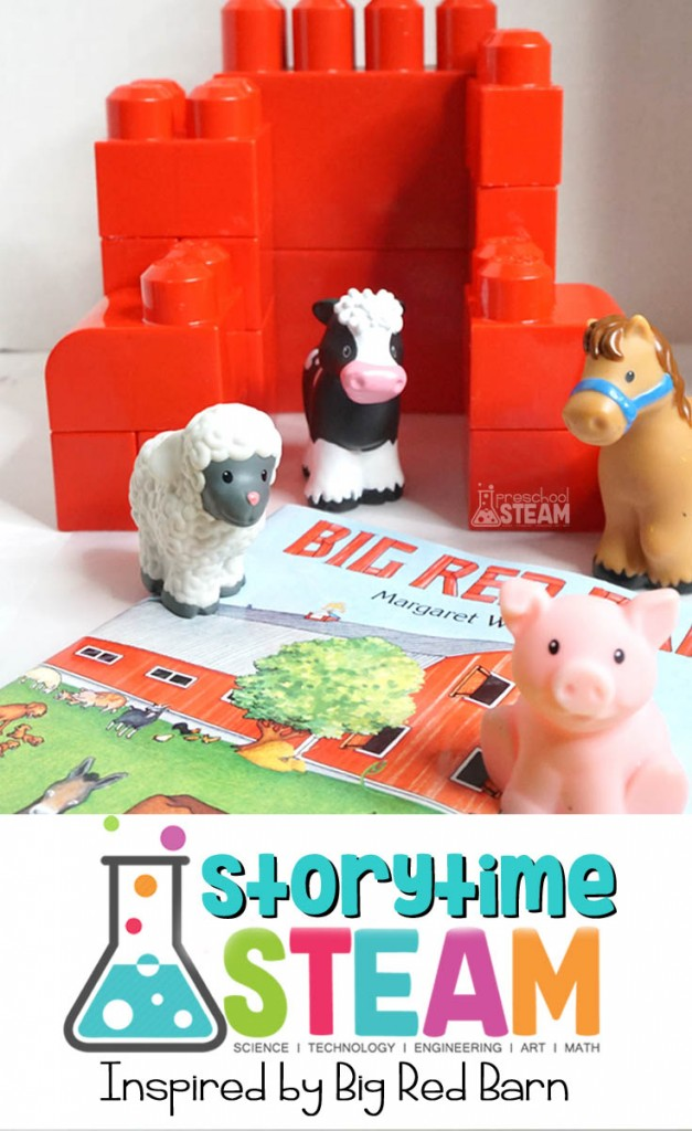 Big Red Barn storytime steam
