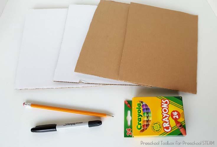 cardboard building materials