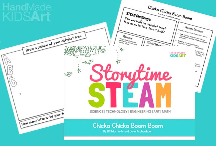 storytime steam lesson pack