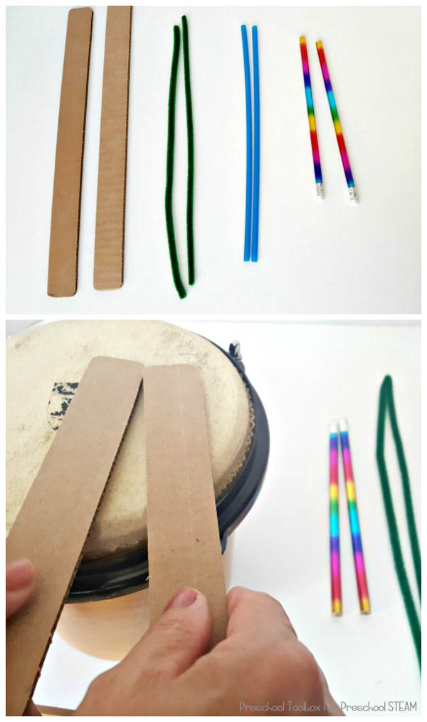 materials for drumsticks