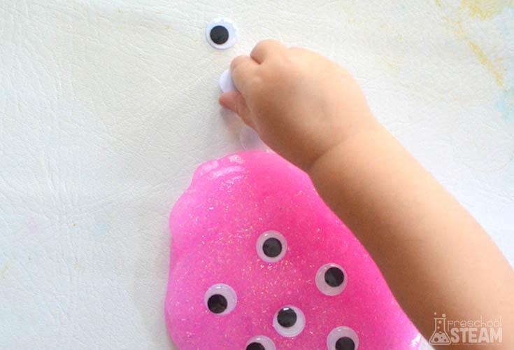 DIY slime for preschoolers