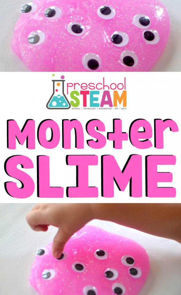 Monster Eyes: An Easy Slime Recipe
