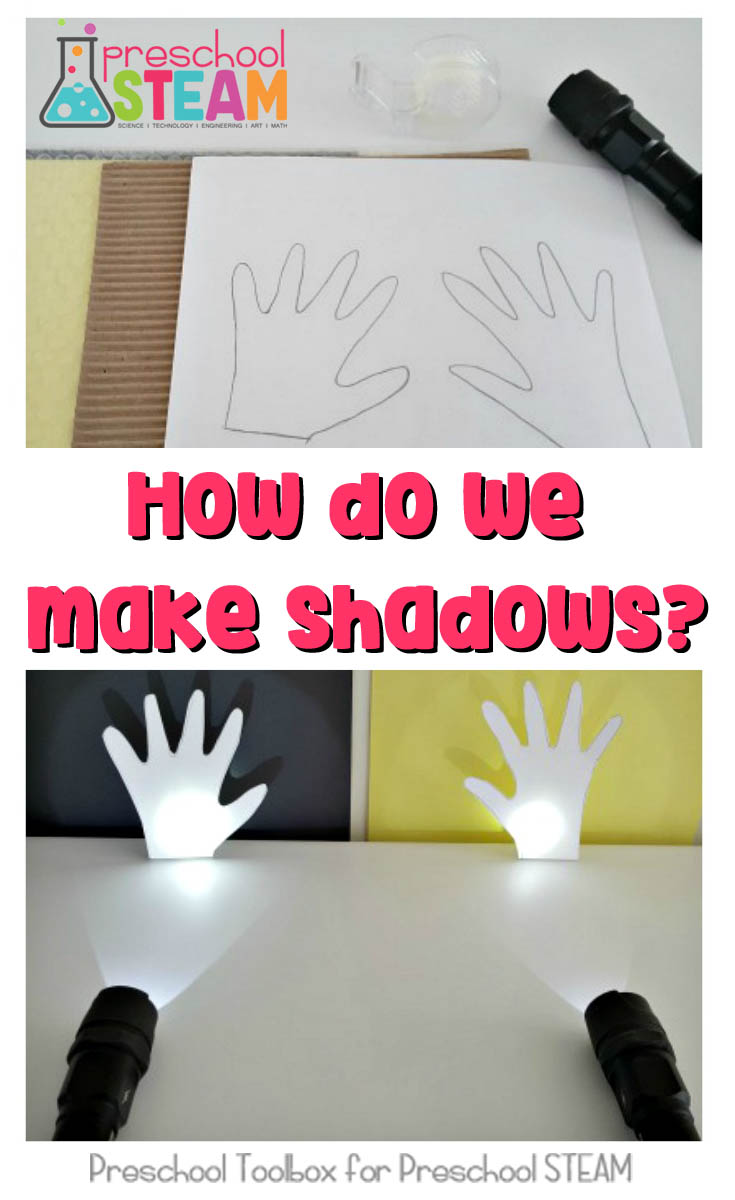 Shadow Investigation STEAM Activities for Preschoolers