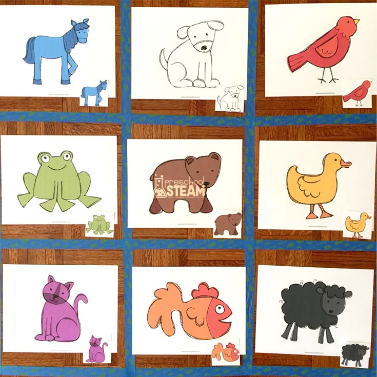 Screen-Free Brown Bear Coding Game for Preschoolers