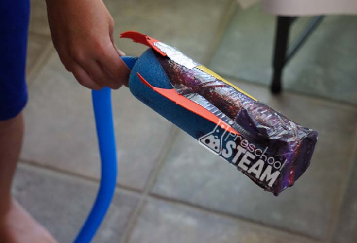 stomp rocket diy