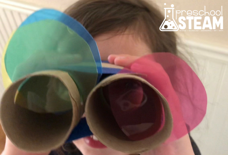 Magic Color Changing Glasses: A STEAM Activity for Preschoolers