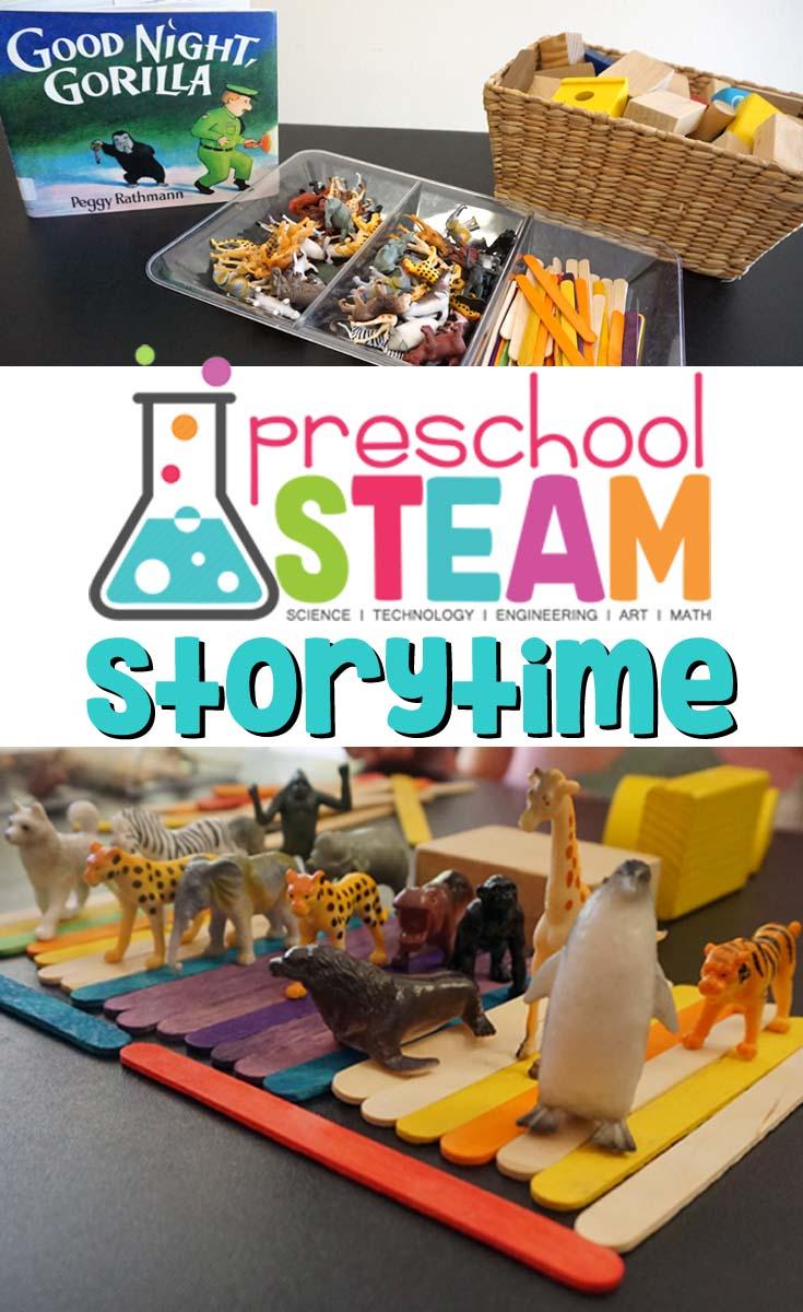 preschool steam storytime