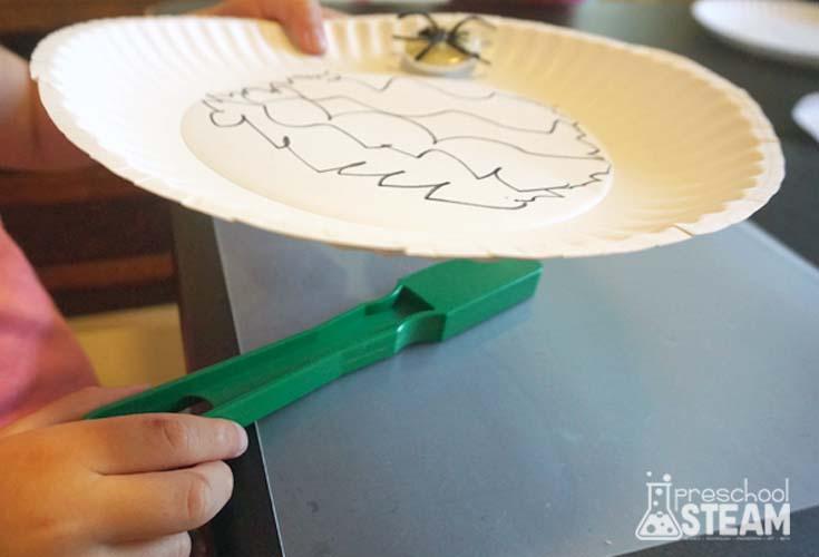 Magnet activity for preschoolers