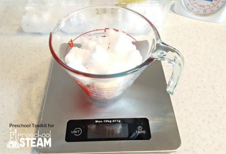 Weighing snow STEAM