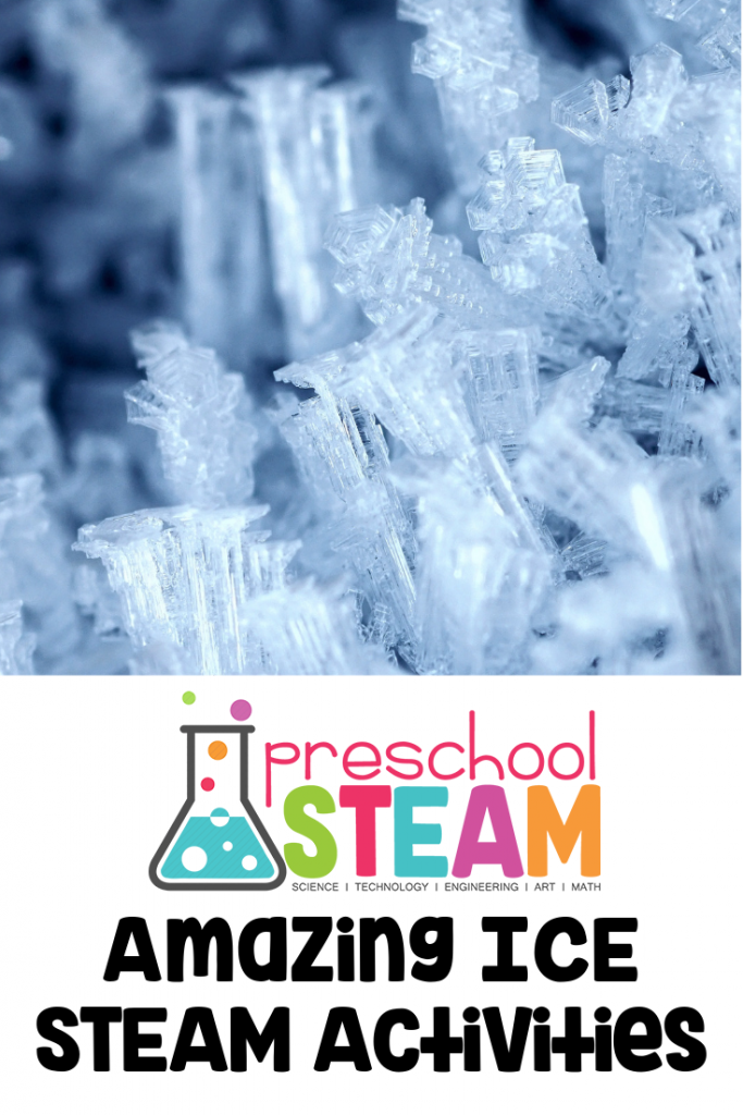 Amazing Ice STEAM Activities for Preschoolers