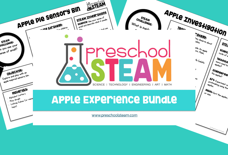 Apple STEAM Activities for Preschoolers