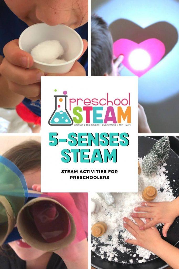 5-Senses STEAM Activities for Preschoolers